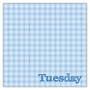 """Days of the Week"" Handkerchief - Tuesday"