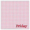 """Days of the Week"" Handkerchief - Friday"