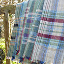 checked wool blanket rug delightful living
