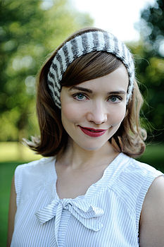Candy Stripe Headband Knitting Kit