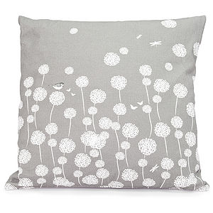 Dandelion Fields Cushion - patterned cushions