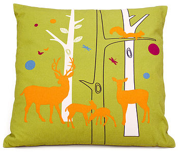 Woodland Friends Cushion