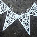 Wedding Paper Bunting