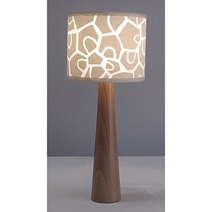 Small Patchwork Petal Lamp - table & floor lamps