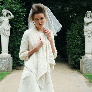 Duchess Wedding Cardigan - pashminas & wraps