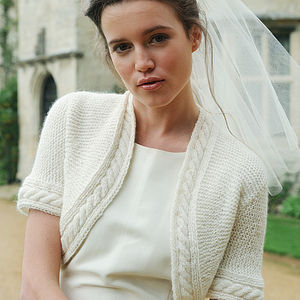Wedding Bonnie Bolero - pashminas & wraps