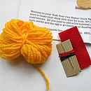 Knit Your Own Easter Chick Kit