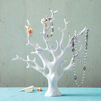 Coral Jewellery Tree
