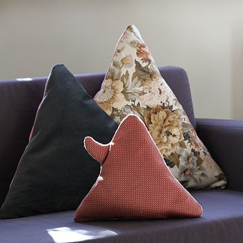 Vintage Fabric Hill Top Cushions