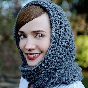 Dusty Snood Knitting Kit - knitting kits