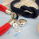 'Newlyn' Personalised Knot Bracelet