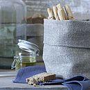 Bray Linen Bread Bag