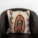 Our Lady Of Guadelupe Cushion Cover