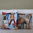 Cowboy Cushion Cover