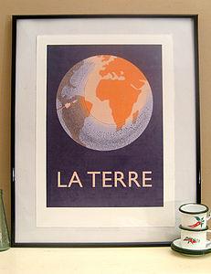 'La Terre' Print