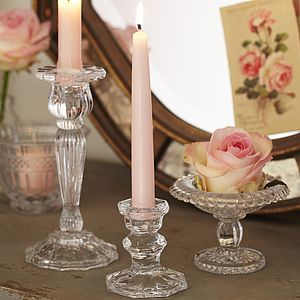 Glass Candlestick - tableware