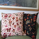 Tattoo Print Cushion Cover