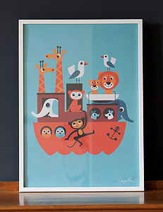 Ark Poster - our 100 favourite children's prints