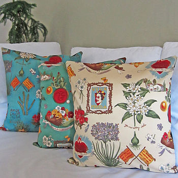 Mexican Viva Frida Cushion Cover