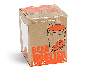 Grow Me Beer Monster Kit - edible plants & seeds