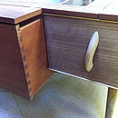 Upcycled Coffee Table With Drawers