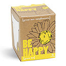 Grow Me Be Happy Sunflowers Kit