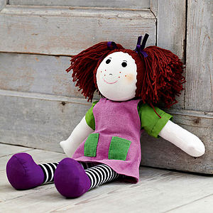 Dress Up Rag Doll - keepsakes
