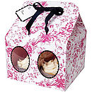 Toile Large Cupcake Boxes