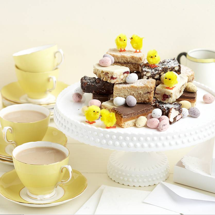 Easter Afternoon Tea Party Gift Box