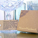Alison Macleod Packaging