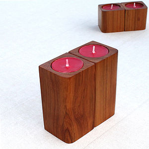 Corner, Tealight And Candle Holders - table decorations