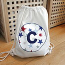 Child's Personalised Star Kit Bag
