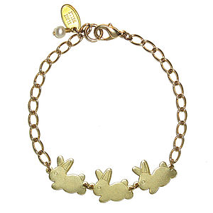 Cottontail Bunnies Bracelet