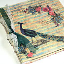 Peacock Design Guest Book / Notebook
