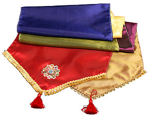 Bright Bollywood Style Table Runner - outdoor decorations