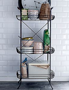 Metal Storage Stand - kitchen