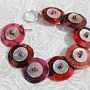 Scarlet Moon Bracelet
