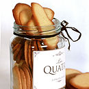 Jar Of Thin Biscuits