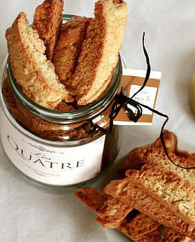 Jar Of Almond Biscotti