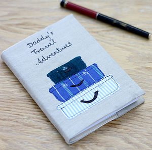 Personalised Travel Notebook - stationery & desk accessories