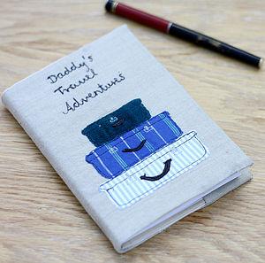 Personalised Travel Notebook