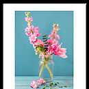 Floral Jar Photographic Print