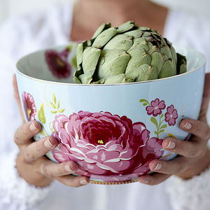 Large Flower Bowl By PiP Studio