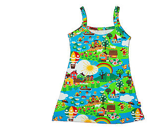 Girl's Summer Beach Dress - clothing