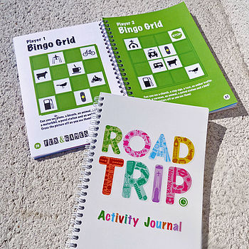 Road Trip Activity Journal 'Stocking Filler'