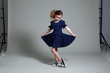 Natalya Girls' Summer Skater Dress