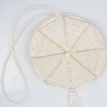 Evie Beaded 1920s Deco Wedding Purse