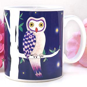 Mysterious Owl Mug