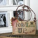 Circus Inspired 'Roll Up' Ceramic Sign