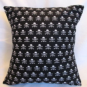 Pirate Skull & Cross Bones Cushion